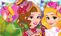 play Princesses Spring Funfair