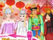 Disney Crossdress Wedding game