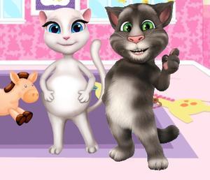 play Preganat Kitty Room Decor