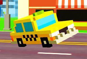 play Pixel Road: Taxi Depot