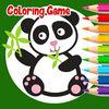 play Little Panda Adventure Coloring For Kids