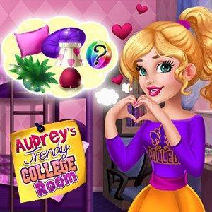 Audrey'S Trendy College Room game