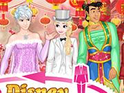 Disney Crossdress Wedding game