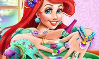 Mermaid Princess: Nails Spa game