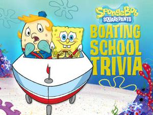Spongebob Squarepants: Boating School Trivia Quiz game