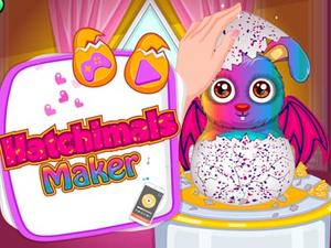 Hatchimals Maker game