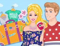play Barbie And Ken Spring City Break