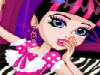 Monster Slumber Party Funny Faces game