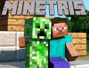 Minetris game
