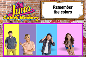 Soy Luna Colors Memory game