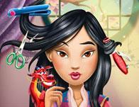 Warrior Princess Real Haircuts game