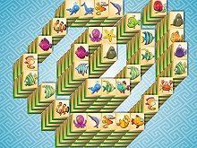 Marine Life: Spiral Mahjong game