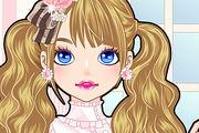 play Cute Doll Makeover