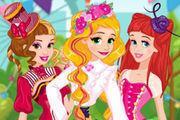Princesses Spring Funfair Girl