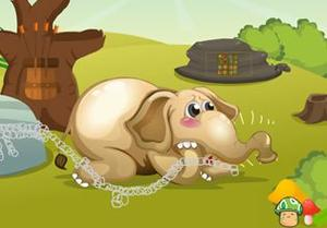 Rescue The Little Elephant game