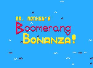 Mr. Monkey'S Boomerang Bonanza! game