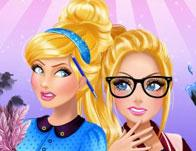 play Cinderella And Barbie Teen Rivalry