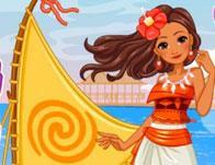 Princess Moana'S Ship game