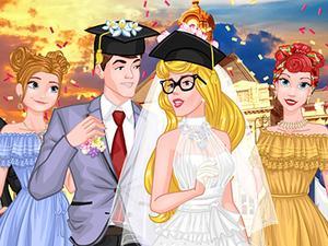 play Princess College Campus Wedding