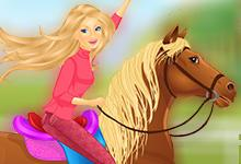 Beauty Riding Camp game