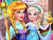 play Prank The Nanny: Baby Elsa