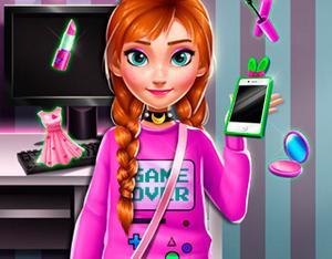 Ice Princess Anna: Geek Fashion game