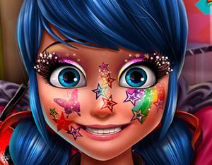 Ladybug Glittery Makeup game