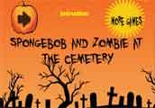play Spogebob And Zombie At The Cemetery