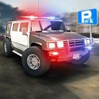 play Hummer Police Parking Brightestgames