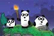play 3 Pandas 2 Girl