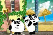play 3 Pandas In Brazil Girl