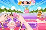 play Princess Driver Quiz Girl