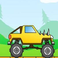 play Big Monsters Racing Lagged