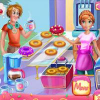 play Annie Cooking Donuts Click4Games