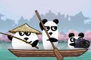 play 3 Pandas In Japan Girl