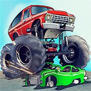 play Monster Truck Flip Jumps