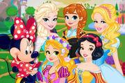 play Disney Walking Tour Girl