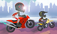 play Uphill Motocross Race