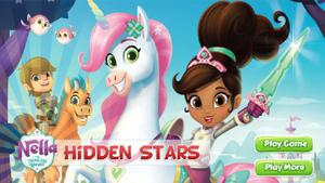 play Nella The Princess Knight Hidden Stars