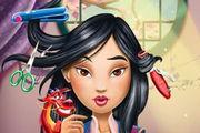 play Warrior Princess Real Haircuts Girl