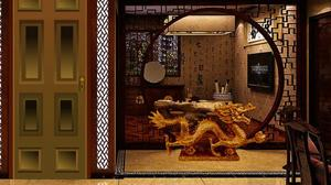play Chinese Architectural House Escape
