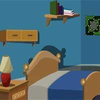 play Elegant Blue House Escape Escapegamestoday