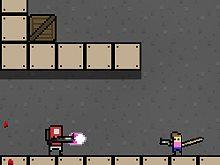 Cave With Robots game