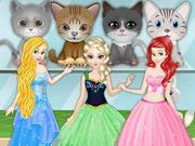 Princesses Choose Pet game