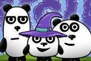 3 Pandas In Fantasy game