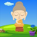Cute Buddha Statue Escape game