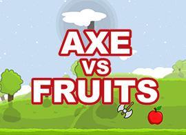 play Axe Vs Fruits