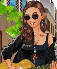 Street Singer Dress Up Game game