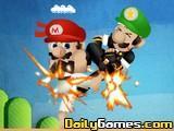 Mario Street Fight game
