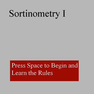 Minigame 3: Sortinometry game